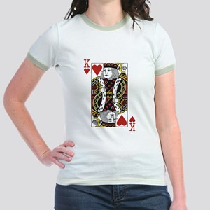 King of Hearts Jr. Ringer T-Shirt