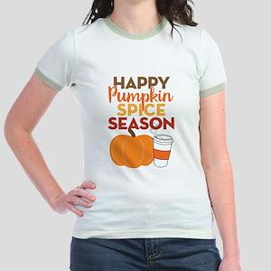 Pumpkin Spice Season Jr. Ringer T-Shirt