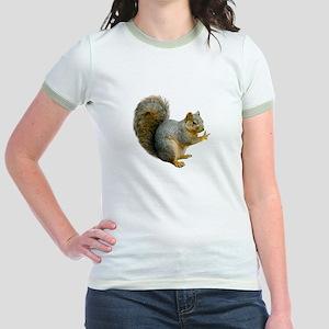 Peace Squirrel Jr. Ringer T-Shirt
