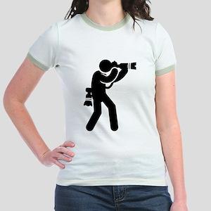 Photography Jr. Ringer T-Shirt