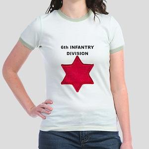 6TH INFANTRY DIVISION Jr. Ringer T-Shirt