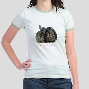 Everybunny needs somebunny Jr. Ringer T-Shirt