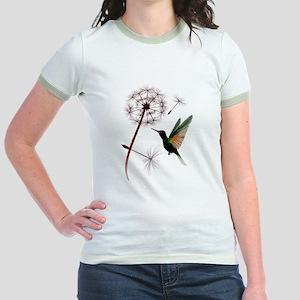 Dandelion and Little Green Hu Jr. Ringer T-Shirt