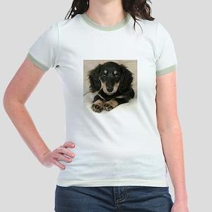 Long Haired Puppy Jr. Ringer T-Shirt