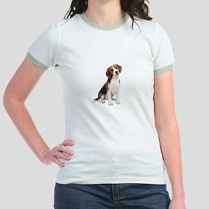Beagle #1 Jr. Ringer T-Shirt