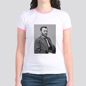 Lt Gen US Grant Jr. Ringer T-Shirt
