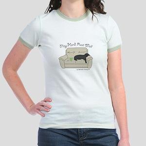 Black Lab - Play Hard Jr. Ringer T-Shirt
