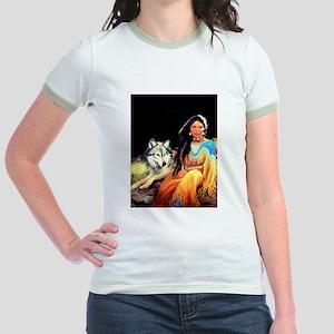 Wolfgirl Jr. Ringer T-Shirt