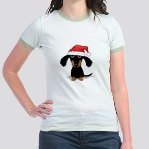 Doxie Clause Jr. Ringer T-Shirt