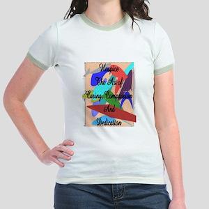 Hospice Jr. Ringer T-Shirt