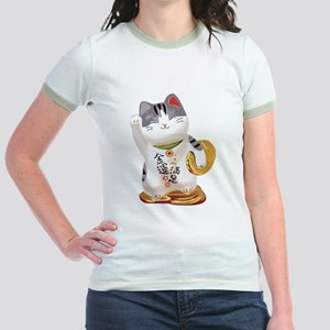 Lucky Cat Jr. Ringer T-Shirt