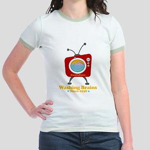 Washing Brains - Since 1938 Jr. Ringer T-Shirt