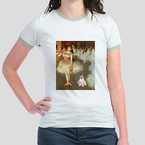 BalletClass-JackRussell #11 Jr. Ringer T-Shirt