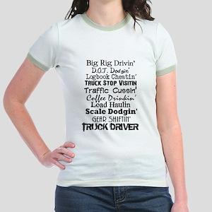 Big Rig Drivin' Jr. Ringer T-Shirt