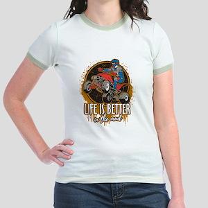 ATV Offroad Life is Better In t Jr. Ringer T-Shirt
