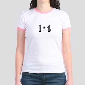1 of 4 (First Born) Jr. Ringer T-Shirt