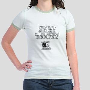Microwave Dice Jr. Ringer T-Shirt