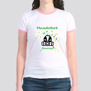 Halo Grunt Headshot Jr. Ringer T-Shirt