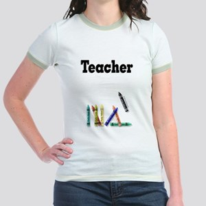 Teacher Jr. Ringer T-Shirt