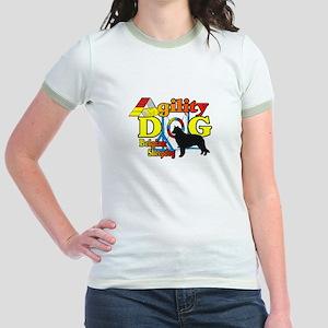 Belgian Sheepdog Agility Jr. Ringer T-Shirt