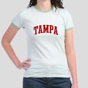 TAMPA (red) Jr. Ringer T-Shirt