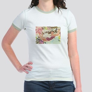 Flying Queen Jr. Ringer T-Shirt