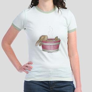 HappyHoppers® - Bunny - Jr. Ringer T-Shirt