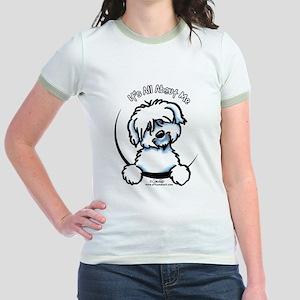 Coton de Tulear IAAM Jr. Ringer T-Shirt