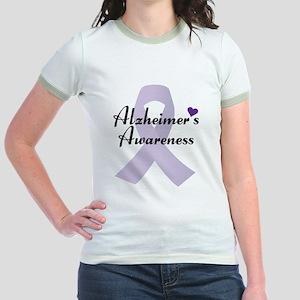Alzheimers Awareness Ribbon T-Shirt