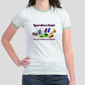 I Love Bacteria Jr. Ringer T-Shirt