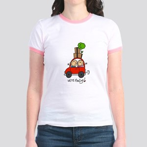 Car We're Moving Jr. Ringer T-Shirt