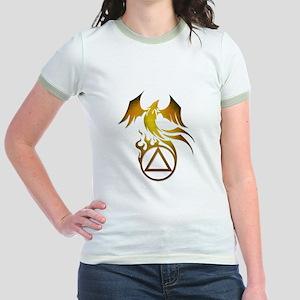 A.A. Logo Phoenix - Jr. Ringer T-Shirt