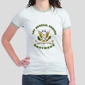 SOF - 1st SF Regiment Jr. Ringer T-Shirt