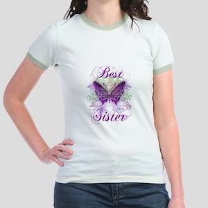 Best Sister Jr. Ringer T-Shirt