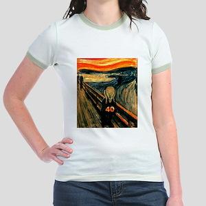 Scream 40th Jr. Ringer T-Shirt