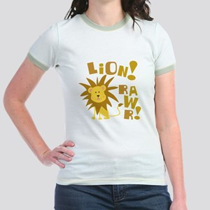 Lion Rawr Jr. Ringer T-Shirt