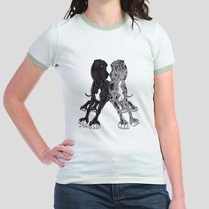 NBlkW NMrlW Lean Jr. Ringer T-Shirt