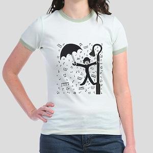 'Singing in the Rain' Jr. Ringer T-Shirt