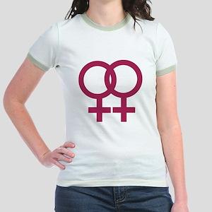 Lesbian Jr. Ringer T-Shirt