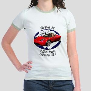 Tesla Roadster Jr. Ringer T-Shirt