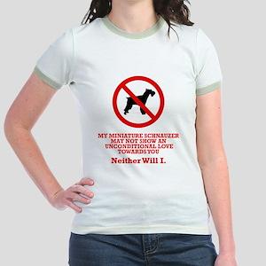 Miniature Schnauzer Jr. Ringer T-Shirt