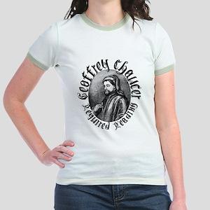 Geoffrey Chaucer Jr. Ringer T-Shirt