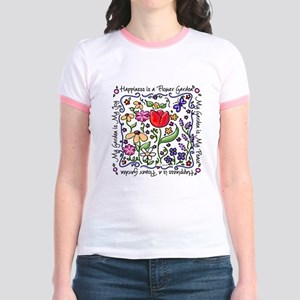 My Garden, My Joy Jr. Ringer T-Shirt
