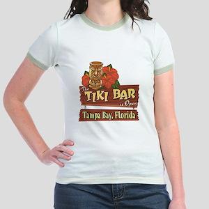 Tampa Bay Tiki Bar - Jr. Ringer T-Shirt
