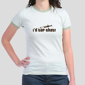 Nurse, Phlebotomist Humor Jr. Ringer T-Shirt