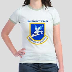 Defensor Fortis Jr. Ringer T-Shirt
