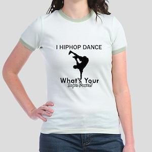 Hip Hop is my Superpower Jr. Ringer T-Shirt