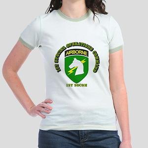 SOF - 1st SOCOM Jr. Ringer T-Shirt