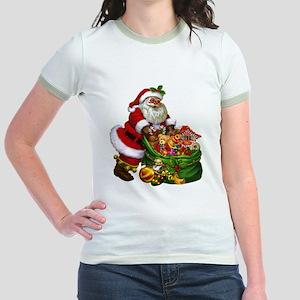 Santa Claus! Jr. Ringer T-Shirt