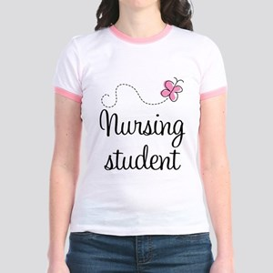 Nursing School Student Jr. Ringer T-Shirt